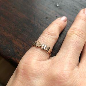 NWOT rose gold ring